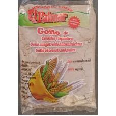 El Palmar - Gofio de Cereales y Legumbres Mehrkorn & Hülsenfrüchte-Mehl geröstet 1kg hergestellt auf Teneriffa - LAGERWARE