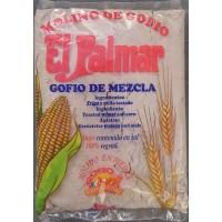 El Palmar - Gofio de Mezcla Trigo y Millo Weizen- & Mais-Mehl geröstet 1kg hergestellt auf Teneriffa