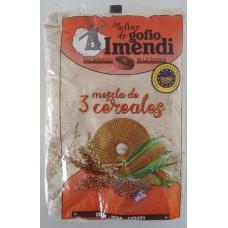 Molino de Gofio Imendi - Gofio de Mezcla 3 Cereales Dreikorn-Mehl geröstet 1kg hergestellt auf La Gomera - LAGERWARE