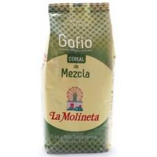 Gofio La Molineta - Cereal de Mezcla Gofio Trigo y Millo Tueste Natural geröstetes Weizen- und Maismehl 1kg hergestellt auf Teneriffa - LAGERWARE MHD: 01.04.2021