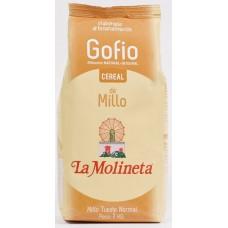 Gofio La Molineta - Gofio Cereal de Millo Tueste Normal Maismehl geröstet 1kg hergestellt auf Teneriffa - LAGERWARE MHD: 01.04.2021