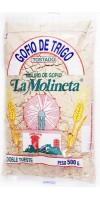 Gofio La Molineta - Gofio de Trigo Doble Tueste Weizenmehl geröstet gesalzen 500g hergestellt auf Teneriffa - LAGERWARE