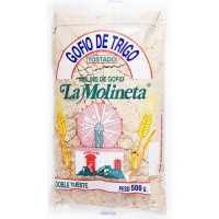 Gofio La Molineta - Gofio de Trigo Doble Tueste Weizenmehl geröstet gesalzen 500g hergestellt auf Teneriffa