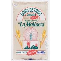 Gofio La Molineta - Gofio de Trigo sin sal Weizenmehl geröstet ungesalzen 500g hergestellt auf Teneriffa