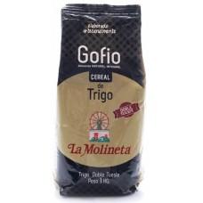 Gofio La Molineta - Gofio de Trigo Doble Tueste Weizenmehl geröstet gesalzen 1kg hergestellt auf Teneriffa - LAGERWARE MHD: 01.02.2021