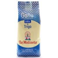 Gofio La Molineta - Gofio de Trigo Tueste normal Weizenmehl geröstet 1kg hergestellt auf Teneriffa