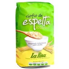 Gofio La Piña - Gofio de Espelta Ecologico Bio Dinkel-Mehl 500g hergestellt auf Gran Canaria - LAGERWARE MHD: 18.02.21