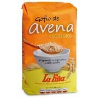 Gofio La Piña - Gofio de Avena ecologico Bio Gofio Hafermehl geröstet 450g hergestellt auf Gran Canaria - LAGERWARE MHD: 19.12.2019
