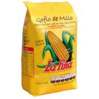 Gofio La Piña - Gofio de Millo Tueste Ligero geröstetes Maismehl 500g hergestellt auf Gran Canaria - LAGERWARE MHD: 16.09.2020