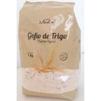 Gofio Miraflor - Gofio de Trigo Tueste ligero Weizenmehl geröstet 1kg hergestellt auf Gran Canaria