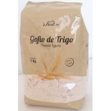 Gofio Miraflor - Gofio de Trigo Tueste ligero Weizenmehl geröstet 1kg hergestellt auf Gran Canaria - LAGERWARE MHD: 27.01.2021