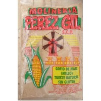 Molineria Perez Gil - Gofio de Maiz (Millo) tueste natural sin gluten geröstetes Maismehl glutenfrei 1kg hergestellt auf Gran Canaria