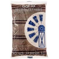 Molinos Las Brenas - Gofio de Cereales y Habas Mehrkorn-Bohnenmehl geröstet 1kg hergestellt auf La Palma