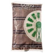 Molinos Las Brenas - Gofio de Mezcla Mais- & Weizenmehl geröstet 1kg hergestellt auf La Palma - LAGERWARE - MHD: 31.08.2019