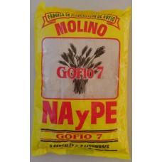 Molinos NayPe - Molino Gofio 7 Siete Cereales Mehrkornmehl geröstet 1kg Tüte hergestellt auf La Palma - LAGERWARE MHD: 30.03.2021