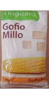 Tinguaro - Gofio de Millo geröstetes Maismehl 1kg Tüte hergestellt auf Teneriffa - LAGERWARE