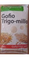 Tinguaro - Gofio de Millo-Trigo geröstetes Mehl aus Weizen und Mais 1kg Tüte hergestellt auf Teneriffa - LAGERWARE