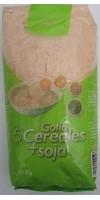 Yugui - Gofio 5 Cereales + Soja Mehrkornmehl geröstet 500g hergestellt auf Gran Canaria - LAGERWARE