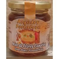Argodey Fortaleza - Miel de Flores Canarias kanarischer Bienenhonig 200g hergestellt auf Teneriffa