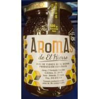Aromas de El Hierro - Miel de Flores Ecologica Bio-Blütenhonig 500g Glas hergestellt auf El Hierro