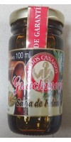 Guachinerfe - Savia de Palmera cocida Palmhonig Palmensaft 100ml Glas hergestellt auf Teneriffa