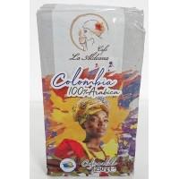 Cafe la Aldeana - Cafe Colombia 100% Arabic Röstkaffee gemahlen 250g Brick hergestellt auf Gran Canaria