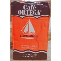 Cafe Ortega - Cafe Molido Torrefacto Röstkaffee gemahlen 250g Karton hergestellt auf Gran Canaria