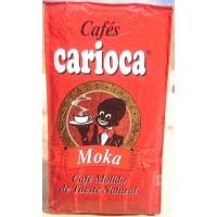 Carioca - Cafe Moka Molido Tueste Natural Röstkaffee gemahlen 250g Päckchen hergestellt auf Teneriffa
