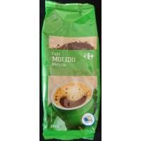 Carrefour - Cafe Molido Mezcla Röstkaffee gemahlen 250g Tüte hergestellt auf Gran Canaria