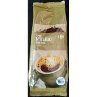 Carrefour - Cafe Molido Natural Röstkaffee gemahlen 250g Tüte hergestellt auf Gran Canaria