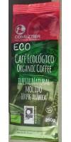Comeztier - Eco Cafe Ecologico tueste natural molido Bio Kaffee gemahlen 250g Tüte hergestellt auf Teneriffa