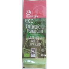 Comeztier - Eco Cafe Ecologico tueste natural molido Bio Kaffee gemahlen 250g Tüte hergestellt auf Teneriffa - LAGERWARE