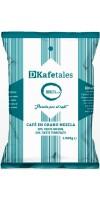 DKafetales - Cafe en Grano Mezcla 50% Tueste natural 50% Tueste Torrefacto gerösteter Bohnenkaffee 1kg hergestellt auf Gran Canaria - LAGERWARE