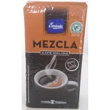 Emicela - Cafè Molido Mezcla Röstkaffee gemahlen 250g Karton hergestellt auf Gran Canaria - LAGERWARE