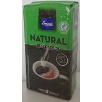 Emicela - Cafè Natural Molido Röstkaffee gemahlen 250g Karton hergestellt auf Gran Canaria