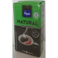 Emicela - Cafè Natural Molido Röstkaffee gemahlen 250g Karton hergestellt auf Gran Canaria - LAGERWARE MHD: 08.06.2020