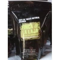 Finca La Laja - Cafe Tueste Natural Arabica molido gemahlener Premium-Röstkaffee aus Agaete 265g Tüte hergestellt auf Gran Canaria