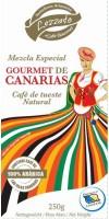 Lezzato - Gourmet de Canarias Café de tueste Natural molido Röstkaffee gemahlen 250g hergestellt auf Teneriffa - LAGERWARE