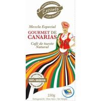 Lezzato - Gourmet de Canarias Café de tueste Natural molido gemahlen 250g hergestellt auf Teneriffa