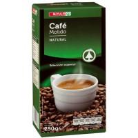 Spar - Cafe Molido Natural Röstkaffee gemahlen 250g hergestellt auf Teneriffa