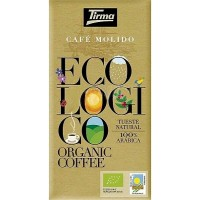 Tirma - Café Ecologico Molido Tueste Natural Bio-Röstkaffee gemahlen 250g hergestellt auf Gran Canaria