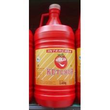 Intercasa - Ketchup große Plastikflasche 2,4kg hergestellt auf Gran Canaria