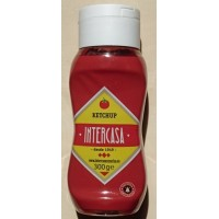 Intercasa - Ketchup Quetschflasche 300g hergestellt auf Gran Canaria - LAGERWARE - MHD 31.06.2020