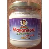 Mosa - Mayonesa con ajo garlic Knoblauch-Majonese Glas 200g hergestellt auf Gran Canaria