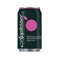 Appletiser - Manzana & Granada Apfelschorle mit Granatapfel 4x 330ml Dosen hergestellt auf Teneriffa - LAGERWARE MHD: 01.01.2020