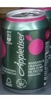 Appletiser - Manzana & Granada Apfelschorle mit Granatapfel 4x 330ml Dosen hergestellt auf Teneriffa - LAGERWARE