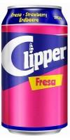 Clipper - Fresa Erdbeer-Limonade 330ml Dose hergestellt auf Gran Canaria - LAGERWARE