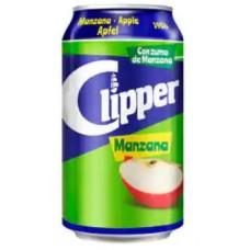 Clipper - Manzana Apfelschorle 10% Fruchtsaftanteil Dose 8x330ml hergestellt auf Gran Canaria - LAGERWARE