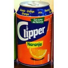 Clipper - Naranja Lemonada Orangenlimonade 4x 330ml Dose hergestellt auf Gran Canaria - LAGERWARE