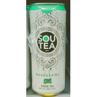 Firgas - Sou Tea No5 Mango & Pina Green Tea Dose 330ml hergestellt auf Gran Canaria